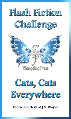 Flash Fiction Challenge: Cats, Cats Everywhere